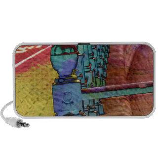 Splash of colour. portable speaker