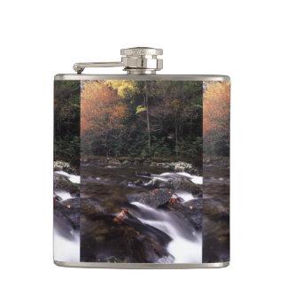 splash of fall flask