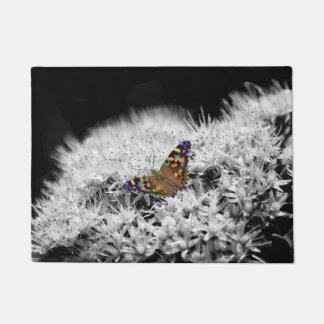 Splash of Flutter Door Mat