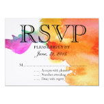 Splash of Watercolor 11 Cm X 16 Cm Invitation Card