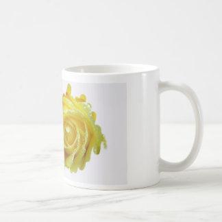 Splash of Yellow Rose Basic White Mug