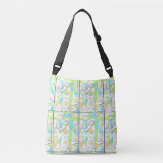 Splash stock market crossbody bag