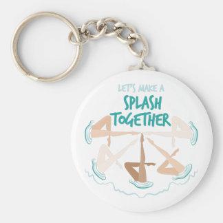 Splash Together Key Ring