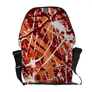 SPLASHDOWN! (an abstract art design) ~ Commuter Bag