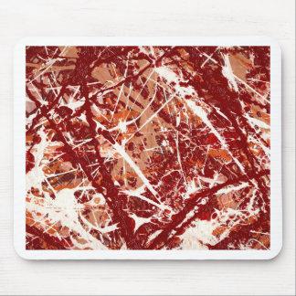 SPLASHDOWN!(an abstract art design) ~ Mouse Pad