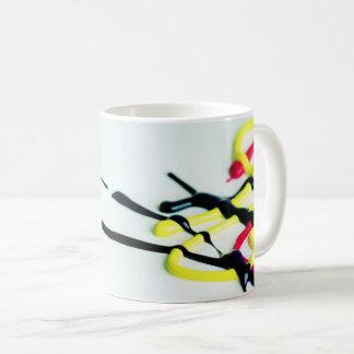 Splashed  Paint Coffee Mug
