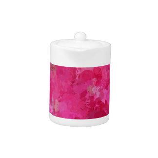 splashes of color, hot pink