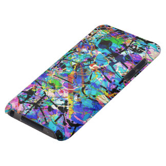 Splashes of Paint Barely There iPod Case