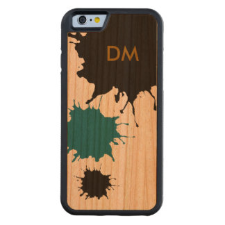 splashes on wood cherry iPhone 6 bumper case