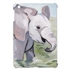Splashing About Baby Elephant iPad Mini Cover