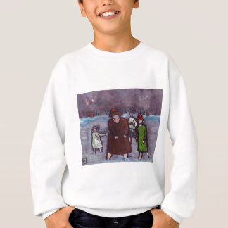 SPLASHING ABOUT IN THE SEA SWEATSHIRT
