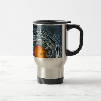 Splashing Orange Mugs