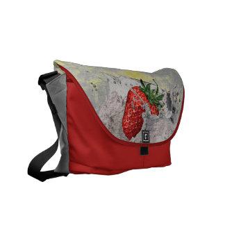Splashing Strawberry Commuter Bag