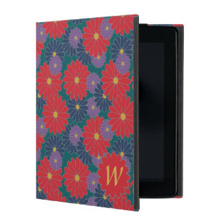 Splashy Fall Floral iPad Powis Case
