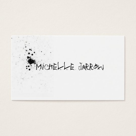 Splat Business Card