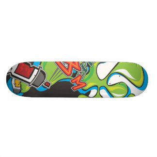 Splat Graffiti Skateboard