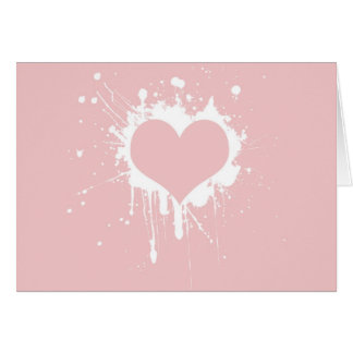 Splat My Heart Cards