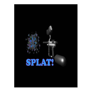 Splat Post Card