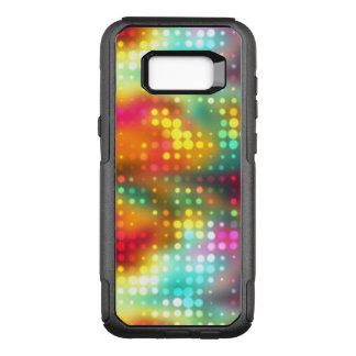 Splats from Rainbow of Rain Abstract OtterBox Commuter Samsung Galaxy S8+ Case
