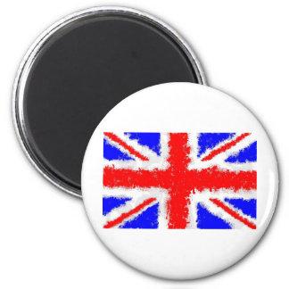 Splatta Union Jack 6 Cm Round Magnet