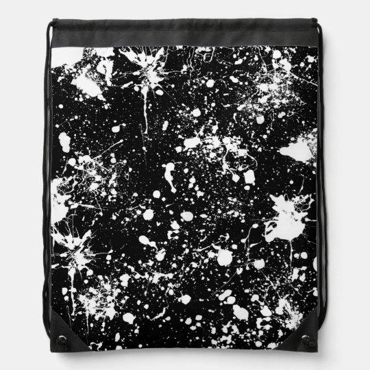 Splatter Art Pattern Rucksacks
