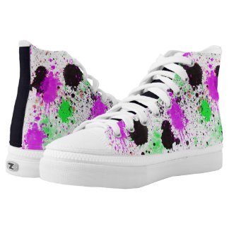Splatter Colour Printed Shoes