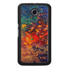 Splatter | Colourful Rainbow Abstract Psychedelic Wood Phone Case