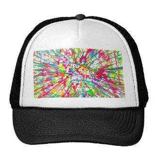 splatter hat