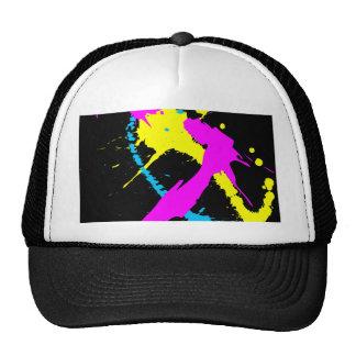 Splatter Mesh Hats