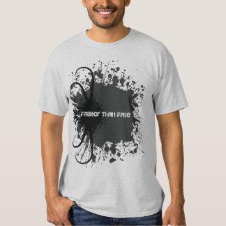 Splatter on Light Mens - Customized Tshirt