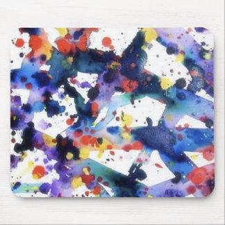 Splatter Paint Mouse Pad