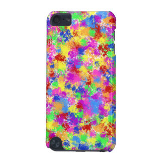 Splatter Paint Rainbow of Bright Color Background iPod Touch 5G Cover