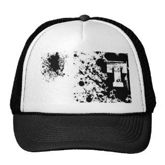 Splatter paint T Mesh Hats