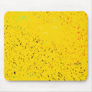 Splatter Painting mousepad