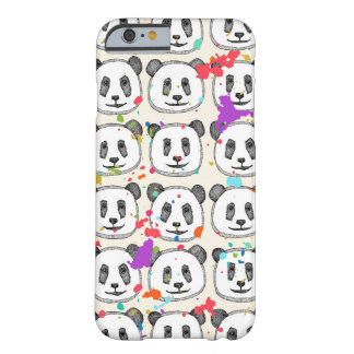 splatter pop panda cookies barely there iPhone 6 case