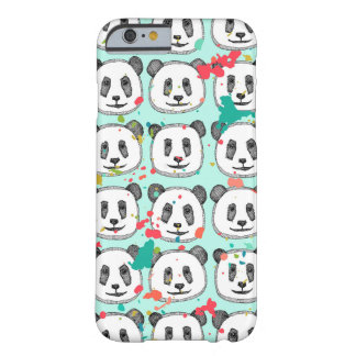 splatter pop panda cookies mint barely there iPhone 6 case