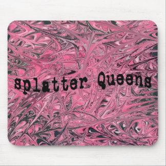 Splatter Queens (TYPED) Mouse Pad