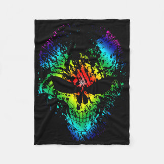Splatter Skull Blanket