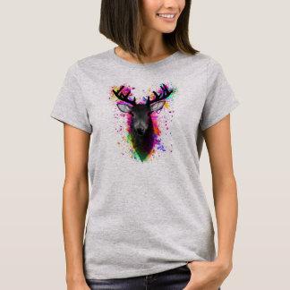 Splatter Stag T-Shirt