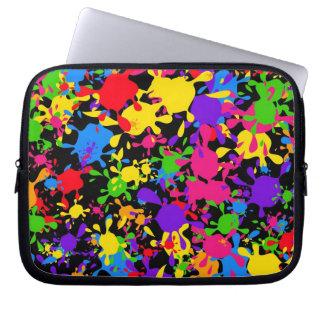 Splatter Wallpaper Computer Sleeve