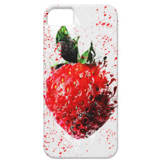 Splattered Strawberry Mobile Phone Case