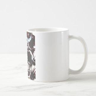 splattering & masking coffee mug