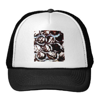 splattering masking hat