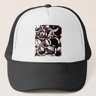 splattering & masking trucker hat