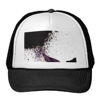 splattering on dry ground cap