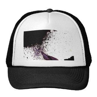 splattering on dry ground mesh hats