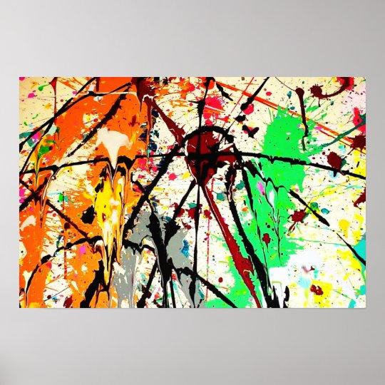 Splatters Poster