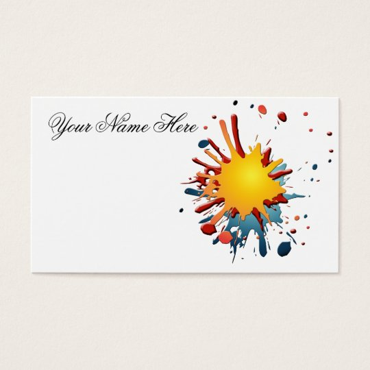 SPLATZ BUSINESS CARD