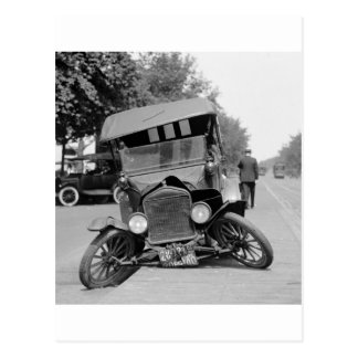 Splayed Feet, 1922 Postcard