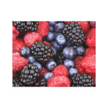 Splendid Berries Gallery Wrapped Canvas